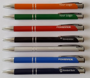 2 Ring metal aluminium Jotta Pens 7 Colours